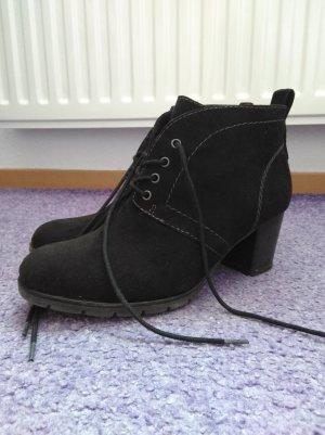Schwarze Ankle Boots/ Stiefeletten