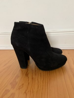 Buffalo London Ankle Boots black leather