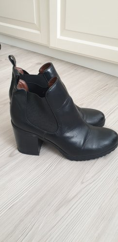C&A Botas de tobillo negro