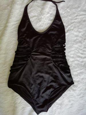 schwarze Badebekleidung, einteilig gr 38 M
