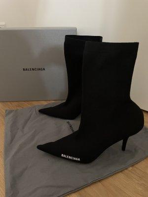 schwarze Balenciaga Stiefeletten