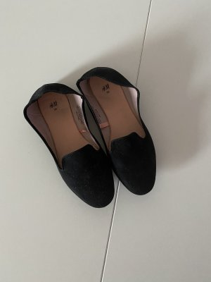 H&M Slingback ballerina's zwart
