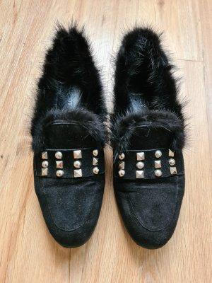 Carrie Latt Pantofel czarny