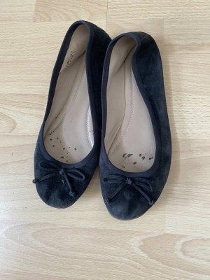 Pesaro Ballerines à lacets noir