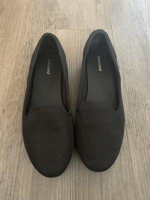 Graceland Ballerines à lacets noir