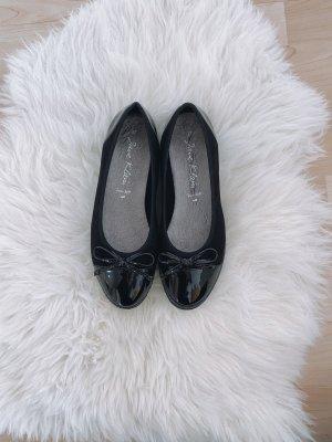 Schwarze Ballerinas | Jane Klain