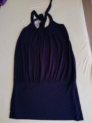Bandolera Balloon Dress black viscose