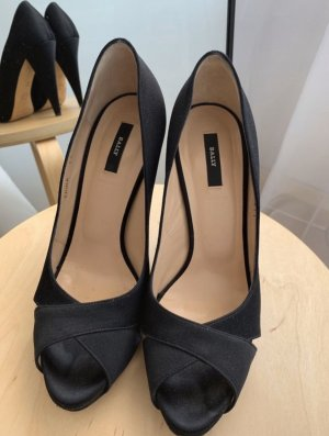 Bally Peep Toe Pumps black
