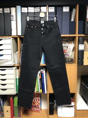 BDG Jeansy z prostymi nogawkami czarny