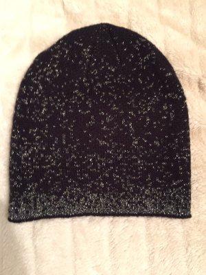 Bonnet noir-argenté