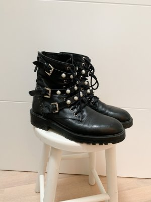 Zara Bottines à plateforme noir