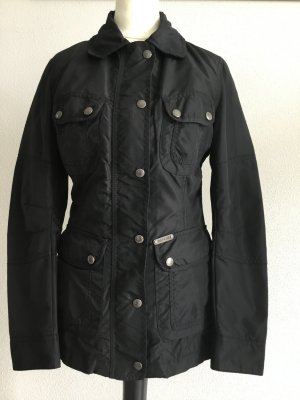Replay Biker Jacket black polyamide