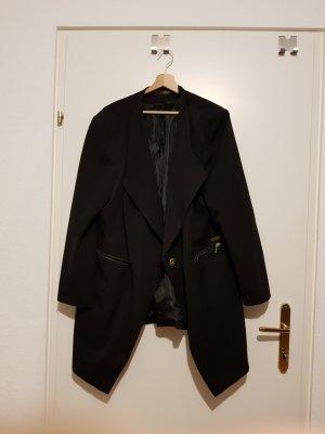 Schwarze Blazer-Jacke
