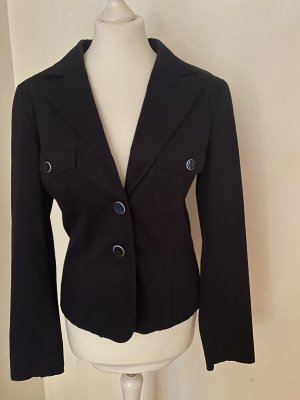 Schwarze Blazer- Jacke von Comma