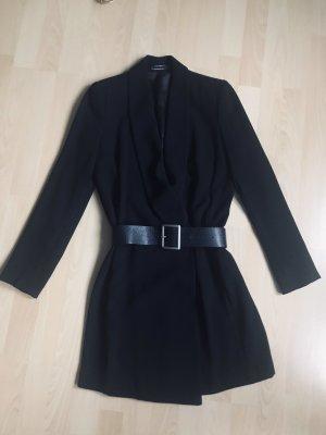 Schwarze Blazer Kleid Zara