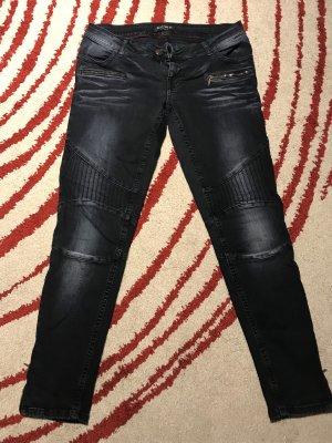 Schwarze Blue Fire Co. Jeans w29l30 (D38)