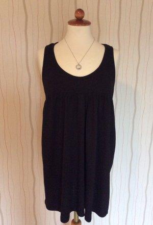 schwarze Bluse 100% Baumwolle Gr. 46/48