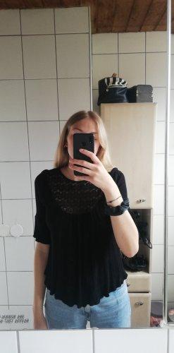 Schwarze Bluse
