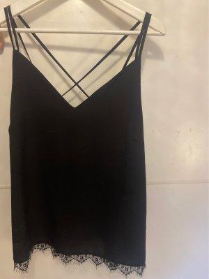 Anna Field Mouwloze blouse zwart