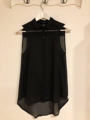 schwarze Bluse, Basic, H&M