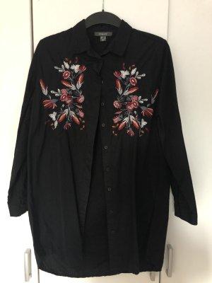 Primark Colletto camicia nero-rosso scuro