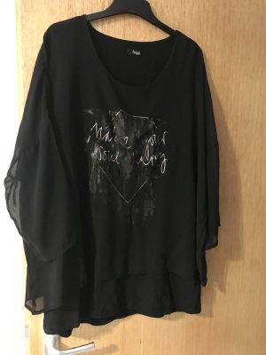 Schwarze Bluse Frapp