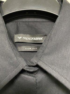 Schwarze Bluse Gr. 34 neu Designer Bluse