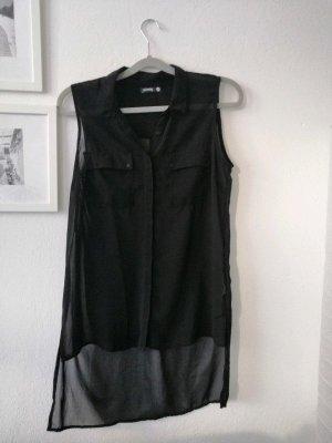 Schwarze Bluse Gr. M von Sinsay