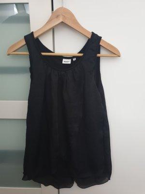 Schwarze Bluse Gr XS