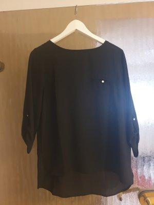 Amisu Bluzka oversize czarny