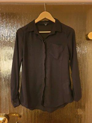 Amisu Blusa trasparente nero