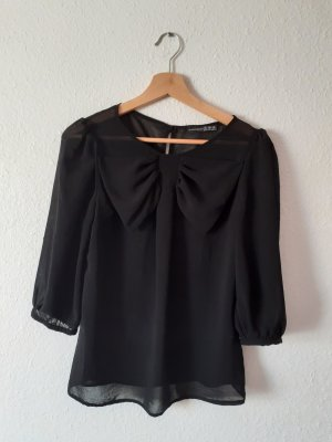 Schwarze Bluse Größe 34 von Atmosphere schwarz