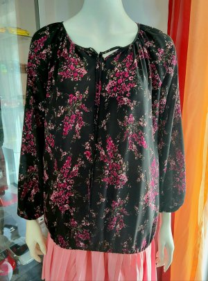 C&A Yessica Slip-over Blouse black-pink