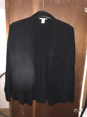 Schwarze Bluse H&M