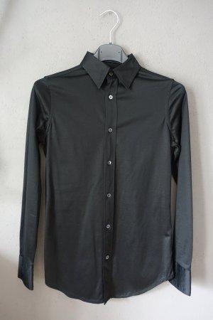schwarze Bluse, Hemd, Polo Ralph Lauren, ungetragen Basic, Baumwolle