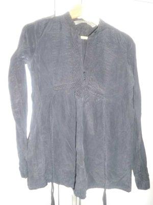 schwarze Bluse in Größe 38 elegant