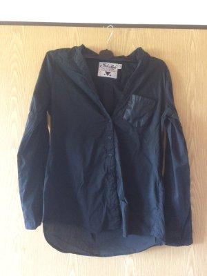 Schwarze Bluse in Größe m/l