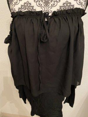 Carmen Blouse black polyester