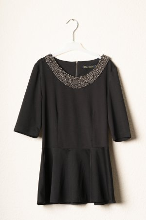 Short Sleeved Blouse black