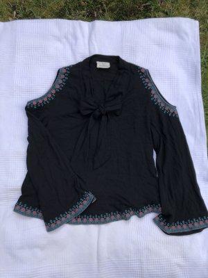 BGD Urban Outfitters Blouse met lange mouwen zwart Polyester