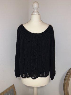 Hollister Carmen blouse zwart