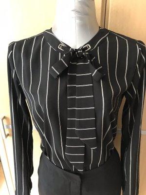 TCM Long Sleeve Blouse black-white