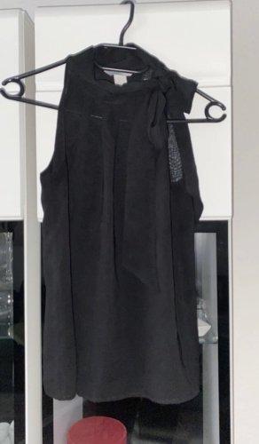 H&M Cols de blouses noir