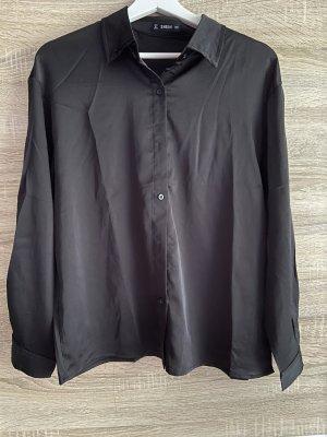 Sheinside Long Sleeve Blouse black