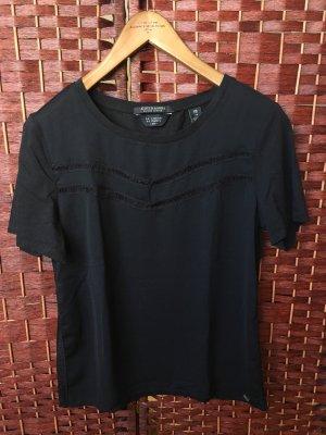 Schwarze Bluse T-Shirt Scotch & Soda Größe XS