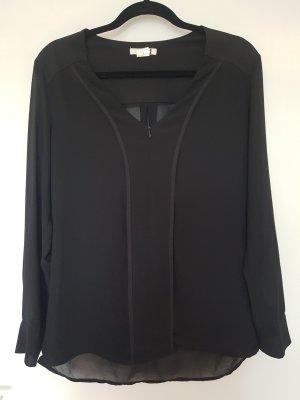 Tkmaxx Transparent Blouse black