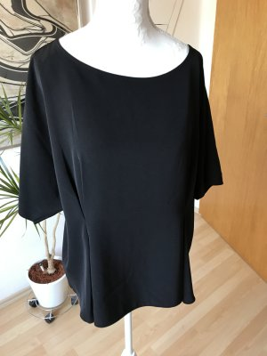 Schwarze Bluse Uniqlo, ausgestellt, Größe M