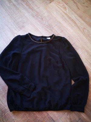 Schwarze Bluse Vero