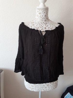 Schwarze bluse von Amisu Größe S