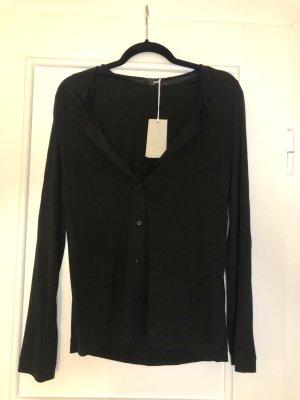 Schwarze Bluse von COS mit Etikett